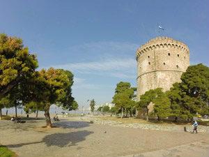 Witte Toren in Thessaloniki