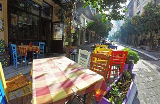 Vakantie in Thessaloniki terras
