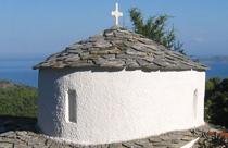 Alonissos vakantie Panagia Sto Vouno kerk
