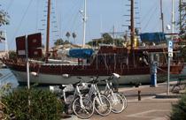 Griekenland vakantie fietsen haven kos