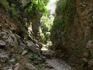Wandelpad Imbros kloof Kreta