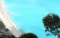 Kefalonia vakantie Myrtos beach