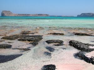 Kreta vakantie Balos beach uitzicht Gramvousa