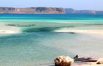 Kreta vakantie Balos beach gramvousa bootje