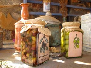 Kreta vakantie souvenirs olijven