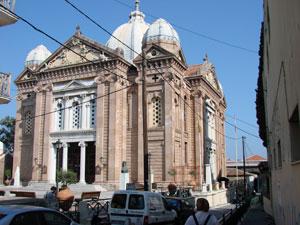 Agios Teparpontas kerk in Mytilini op Lesbos