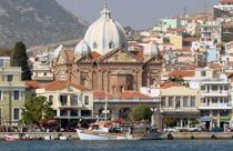 Lesbos vakantie Mytilini overzicht