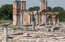 Macedonie vakantie Filippi opgravingen