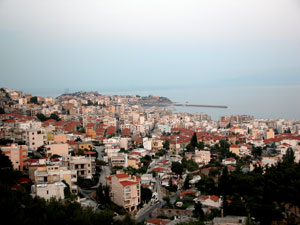 Kavala in Macedonie.
