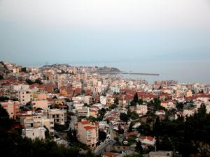 Kavala in Macedonie.