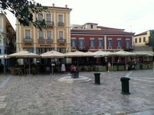 Nafplion op de Peloponnesos