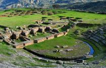 Peloponnesos vakantie ancient aigeira griekenland