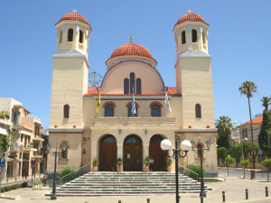 Kerk in Rethymnon op Kreta