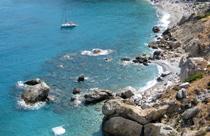 Skiathos vakantie baai met strandje