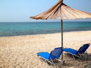 Thassos heeft heerlijke rustige stranden