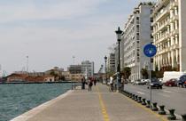 Thessaloniki stedentrip boulevard en zee