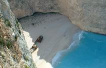 Zakynthos vakantie Navagio Shipwreck beach