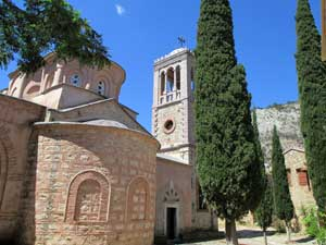 Chios vakantie Nea Moni klooster