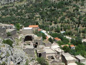 Chios vakantie Anavatos bergdorp