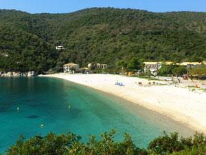 Poros strand in Epirus