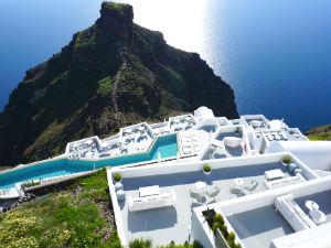 Imerovigli Santorini Skaros met uitzicht