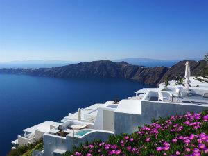 Imerovigli Santorini uitzicht