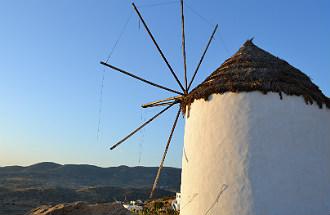 Ios fotos album in Griekenland