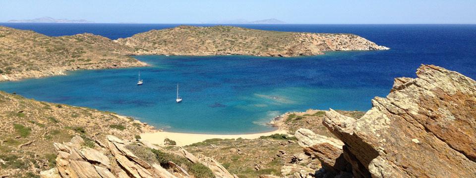 Baai van Tris Klisies op Ios