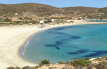 Magganari beach op Ios