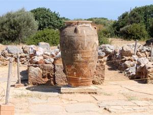Minoïsche paleis opgravingen Malia