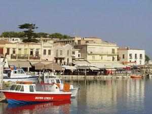 Haven van Rethymnon op Kreta