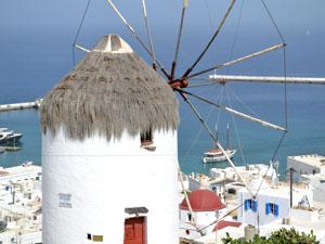 Streekmuseum van Mykonos in de molen Chora
