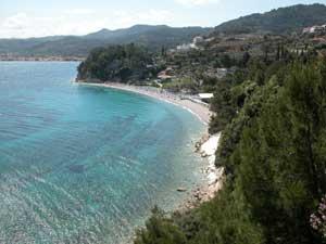 Mooie baai op Samos