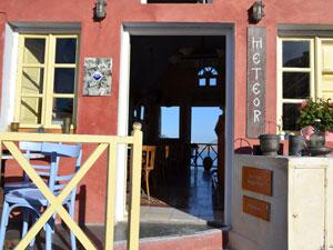 Restaurant Meteor in Oia op Santorini