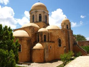 Agia Triada klooster op Akrotiri bij Chania Kreta