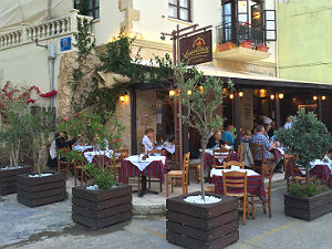 Restaurant Chrysostomos in Chania op Kreta