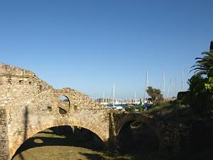 Gouvia Venetiaanse bootwerf op Corfu