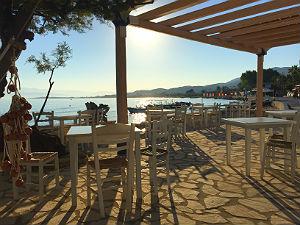 Terras Boat house in Roda Corfu