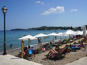 Dassia strandvakantie op Corfu