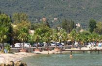 Ipsos het strand Corfu