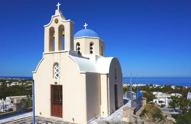 Kamari vakantie op Santorini