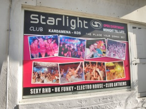 Starlight club in Kardamena