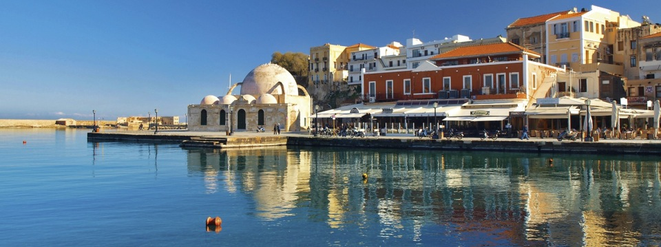 Chania Venetiaanse haven op Kreta