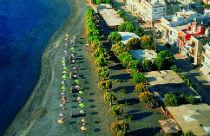 Ierapetra beach op Kreta