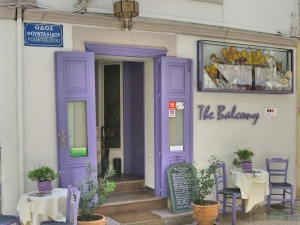 The Balcony restaurant Sitia op Kreta