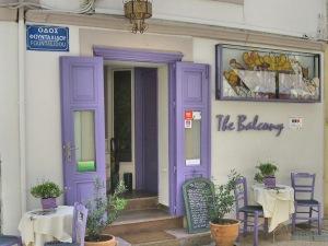 The Balcony restaurant Sitia op Kreta