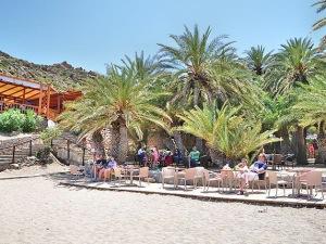 Vai beach restaurant Kreta