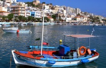 Sitia haven op Kreta