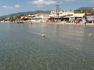 Laganas strand op Zakynthos