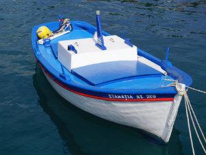 Agia Efimia vissersboot op Kefalonia